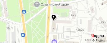 Ларена-Авто на карте Москвы