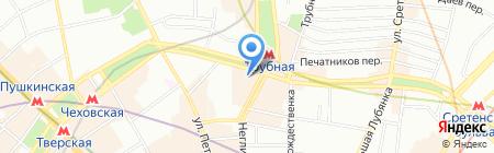Правовой центр на карте Москвы
