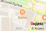 Схема проезда до компании Правовой центр в Москве