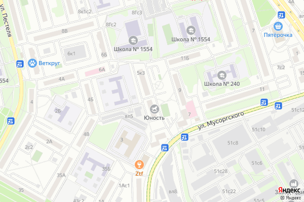 Ремонт телевизоров Северо Восточный административный округ на яндекс карте