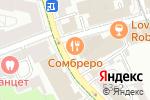 Схема проезда до компании Nail House в Москве