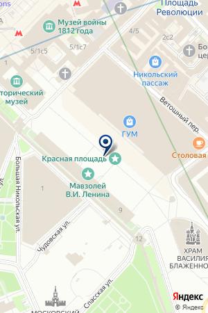 ВОДАВОЗКИН на карте Москвы