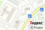 Схема проезда до компании Атиора в Москве