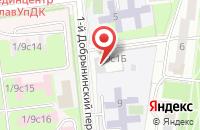 Схема проезда до компании Геоградстрой в Москве