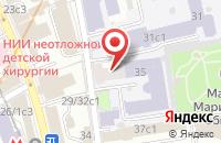 Схема проезда до компании Хозпром в Москве