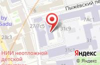 Схема проезда до компании Астана в Москве