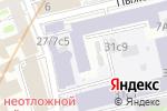 Схема проезда до компании Бюро независимой оценки и экспертизы в Москве