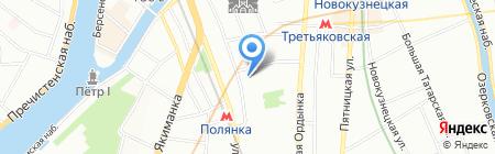 ЮрЪ интелис на карте Москвы