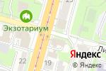 Схема проезда до компании Сеть киосков по продаже хлебобулочных изделий в Туле