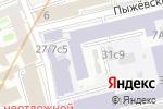 Схема проезда до компании ЮрЪ интелис в Москве
