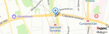 Мосэнка Плаза на карте Москвы