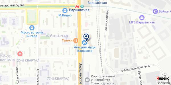 Экспресс-Страхование на карте Москве