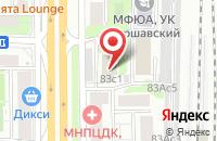 Схема проезда до компании Ра Альтаир в Москве