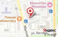 Схема проезда до компании Увраж в Москве
