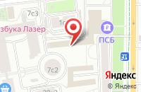 Схема проезда до компании Фолиант Пресс в Москве