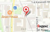 Схема проезда до компании Международный Бизнес Клуб в Москве