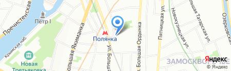 Егоров Пугинский Афанасьев и партнеры на карте Москвы