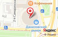 Схема проезда до компании Cupcake story в Москве