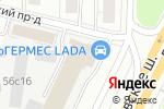 Схема проезда до компании ИОЛЛА в Москве
