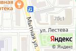Схема проезда до компании Магазин автозапчастей на Люсиновской в Москве