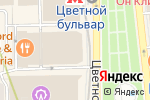 Схема проезда до компании Vanda Decor в Москве
