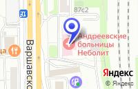 Схема проезда до компании ТФ АТЛАС-МАРКЕТ в Москве
