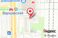Схема проезда до компании Абсолют Финанс в Москве