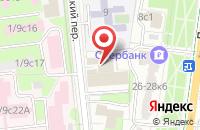 Схема проезда до компании Ассаджиатори в Москве