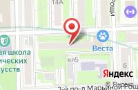 Схема проезда до компании Люксор Дистрибьюшн в Москве