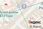 Схема проезда до компании Flo & Jo в Москве