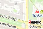 Схема проезда до компании Ботаника в Москве