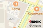 Схема проезда до компании Московский театр в Москве
