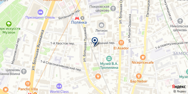 КБ АЗИЯ-ИНВЕСТ на карте Москве