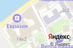 Схема проезда до компании Центр международных и сравнительно-правовых исследований в Москве
