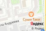 Схема проезда до компании Фишка в Москве
