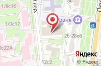 Схема проезда до компании Санремо в Москве