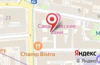 Схема проезда до компании Сп-Строй в Москве