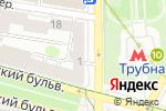 Схема проезда до компании Keep Looking в Москве