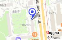 Схема проезда до компании КБ ПАРИТЕТ в Москве