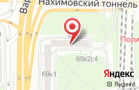 Схема проезда до компании Авто Сервис Юг в Москве