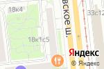 Схема проезда до компании АКБ РосЕвроБанк в Москве