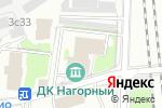 Схема проезда до компании Золотая волна в Москве
