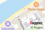 Схема проезда до компании ЮрИнвестКонсалтинг в Москве