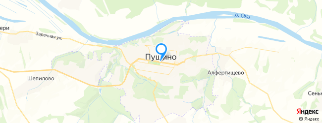 город Пущино