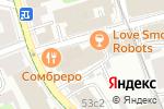 Схема проезда до компании Сакурами в Москве
