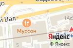 Схема проезда до компании Градский Холл в Москве