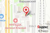 Схема проезда до компании Некоммерческая Организация Фонд Развития Культуры и Кино в Москве