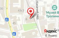 Схема проезда до компании Стронг в Москве