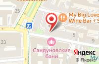 Схема проезда до компании Виталайн в Москве