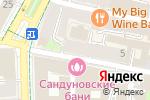Схема проезда до компании Treasure box в Москве